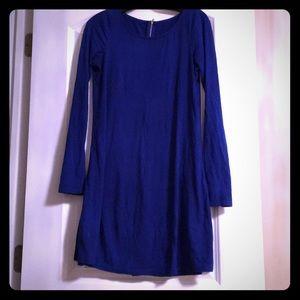 Royal Blue Trapeze Dress